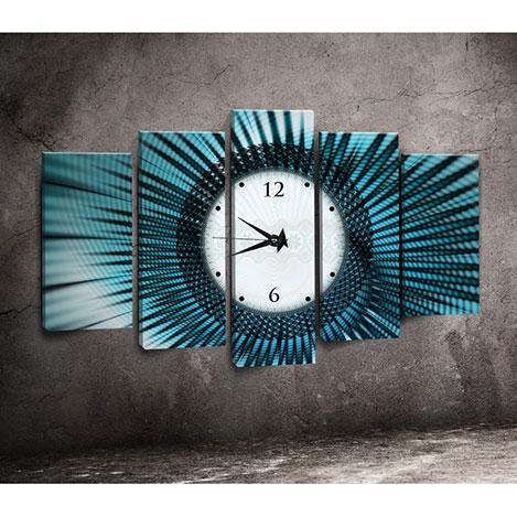 Canvastime TMG110 Canvas Tablo Saat - 5 Parçalı