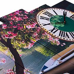 Canvastime TMG111 Canvas Tablo Saat - 5 Parçalı