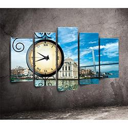 Canvastime TMG151 Canvas Tablo Saat - 5 Parçalı
