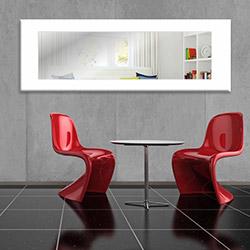 Modacanvas Hma425 Dekoratif Yatay Ayna - 120x40 cm