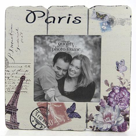 Resim  DecoTown Paris Ahşap Fotoğraf Çerçevesi