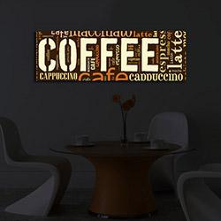 Özgül 3090İACT-33 İçten Aydınlatma Kanvas Tablo - 30x90 cm