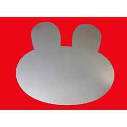 Bosphorus Tavşanlı Aynalı Sticker - 20x20 cm