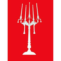 Bosphorus Şamdan Aynalı Sticker - 35x20 cm