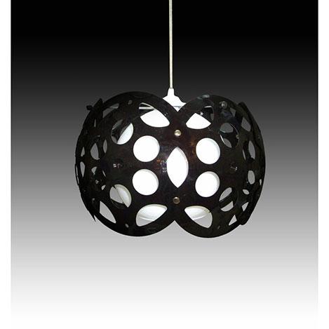 Resim  D-Light Petek Avize - Siyah