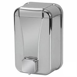 Alper Banyo Sıvı Sabun Dispenseri (Krom) - 1000 cc