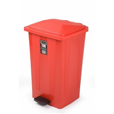 Resim  Alper Banyo Çöp Kovası (Kırmızı) - 48 Lt