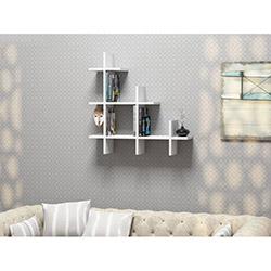 House Line 3Gen Duvar Rafı - Naturel Beyaz