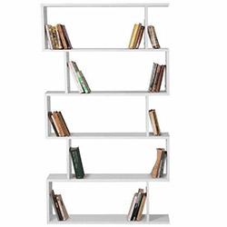 House Line Volans Kitaplık - Naturel Beyaz