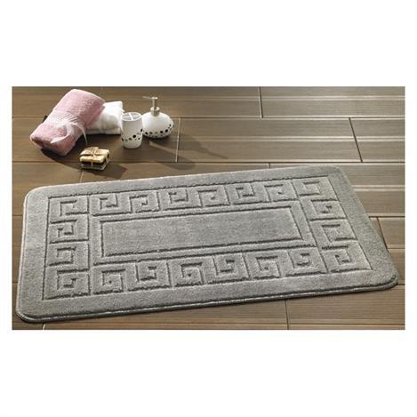 Confetti Ethnic Banyo Halısı (Platin) - 60x100 cm