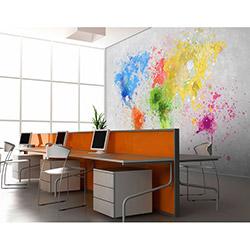 Artmodel Color Map Poster Duvar Kağıdı - 390x270 cm