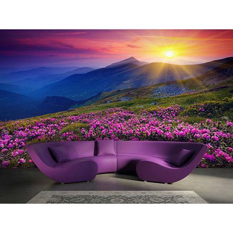 Resim  Artmodel Kır Çiçekleri Poster Duvar Kağıdı - 390x270 cm
