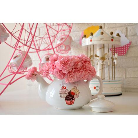 Keramika Pink Cake A Demlik - 9 cm