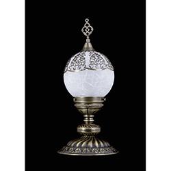 Safir Light Osmanlı Abajur - Eskitme
