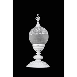 Safir Light Osmanlı Abajur - Beyaz