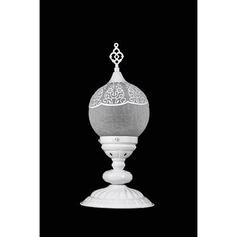 Resim  Safir Light Osmanlı Abajur - Beyaz