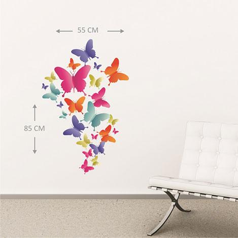 Supersticx KTS230 Duvar Sticker - 55x85 cm