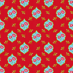 D-c Fix Dekor Güller Yapışkanlı Folyo - Kırmızı
