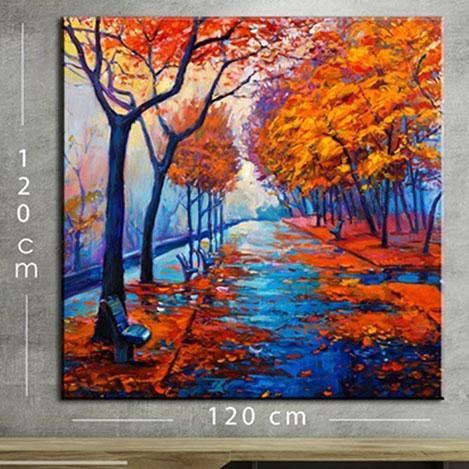 Modacanvas KR114 Mega Dijital Yağlı Boya Tablo - 120x120 cm