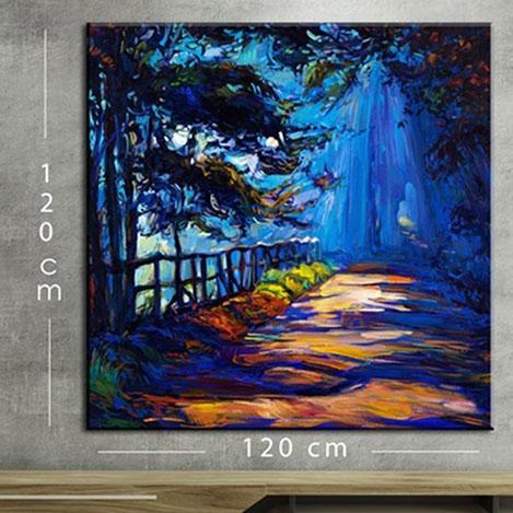 Resim  Modacanvas KR116 Mega Dijital Yağlı Boya Tablo - 120x120 cm