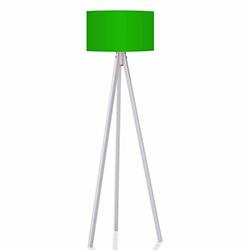 House Line 3 Ayaklı Tripod Lambader - Yeşil / Beyaz