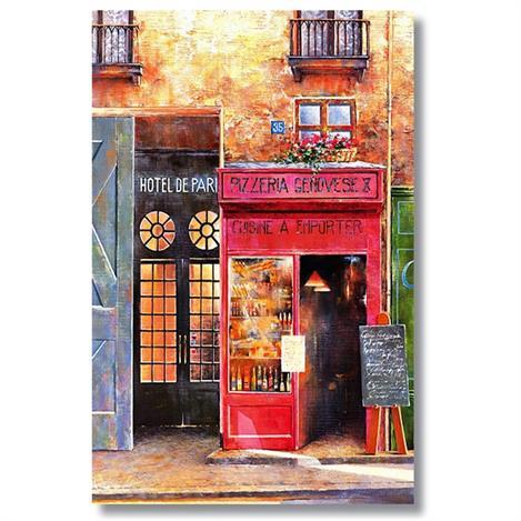 Resim  Tictac TT1-70 Cafe Kanvas Tablo - 50x75 cm