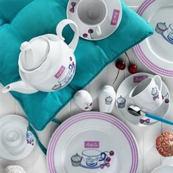 Kütahya Porselen 33 Parça 8003 Desen Kahvaltı Takımı