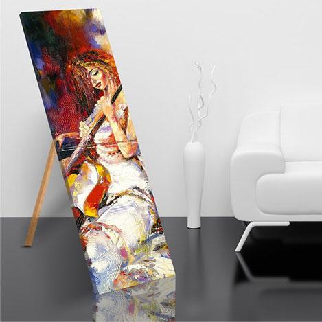 Resim  Modacanvas AYP65 Ayaklı Kanvas Tablo - 50x150 cm