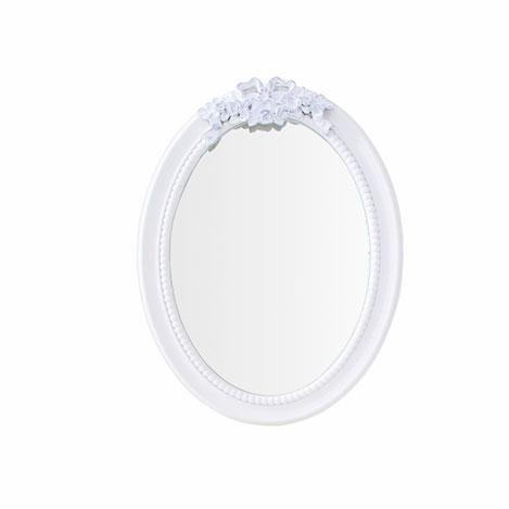 Simple Living Ayna (Beyaz) - 30x40,5 cm