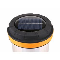 Modelsa 24 Led Solar Dımmerli Şarjlı Kamp Feneri - Siyah