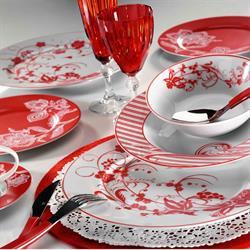 Kütahya Porselen İris 24 Parça 8673 Desen Yemek Seti