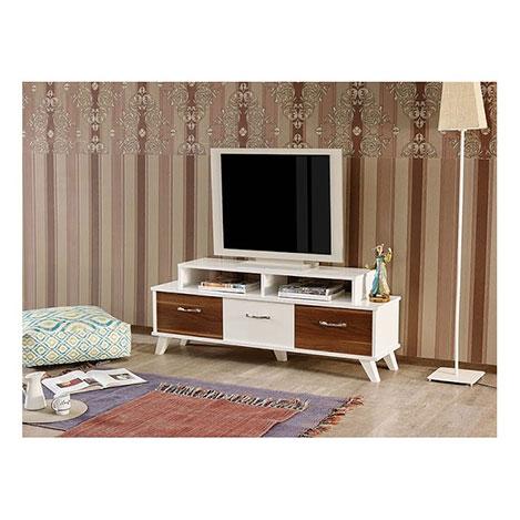 Abre VM-454 Tv Ünitesi - Beyaz / Ceviz