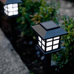 Practika V67 Sokak Lambası Tasarımlı Solar Bahçe Lambası