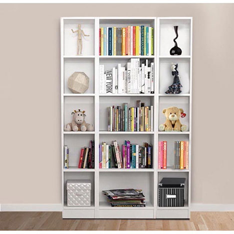 Resim  House Line 15 Raflı Kitaplık - Beyaz