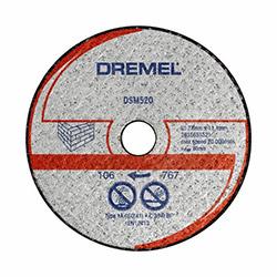 Dremel DSM520 SM20 Karpit Kesme Diski