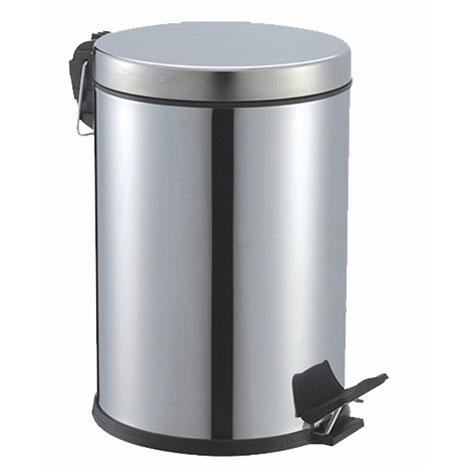 Resim  Cosiness Paslanmaz Pedallı Çöp Kovası - 16 Litre