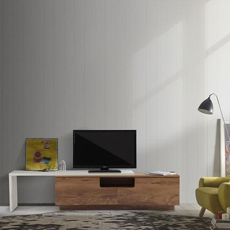 Resim  Serhat Mobilya Slide Tv Sehpası - Sedef / Modena