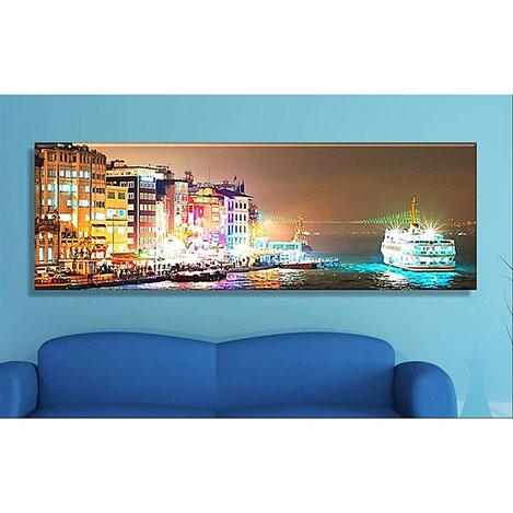 Arte CASA112 Kanvas Tablo - 120x40 cm