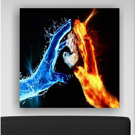 Arte SG145 Kanvas Tablo - 30x30 cm