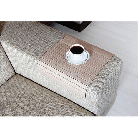 Esser Koltuk Sehpası (30x40) - Beyaz Meşe