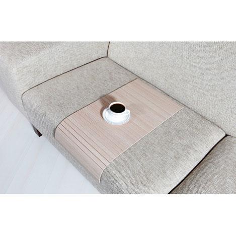 Esser Koltuk Sehpası (30x60) - Beyaz Meşe