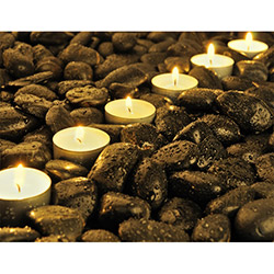Duvar Tasarım DLC 1078 Candle Led Canvas Tablo - 70x50 cm