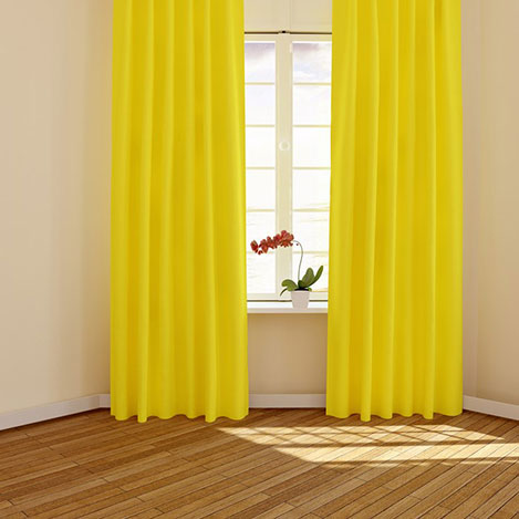 MissiaHome Fon Perde (Sarı) - 170x270 cm