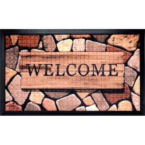 Resim  Giz Home Welcome Kosta Kapı Paspası - 45x75 cm