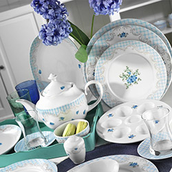 Kütahya Porselen 43 Parça Leonberg 8907 Desen Kahvaltı Takımı