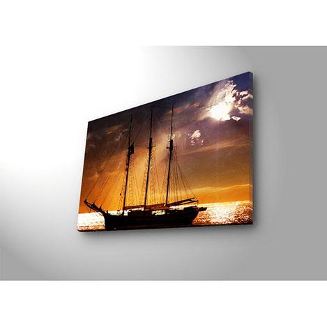 Özgül 4570DACT-75 Aydınlatmalı Kanvas Tablo - 45x70 cm