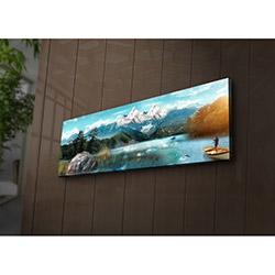 Özgül 3090İACT-62 Aydınlatmalı Kanvas Tablo - 30x90 cm
