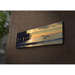 Özgül 3090İACT-67 Aydınlatmalı Kanvas Tablo - 30x90 cm