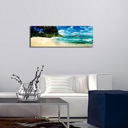 Özgül 3090DACT-69 Aydınlatmalı Kanvas Tablo - 30x90 cm