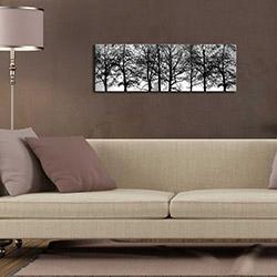 Özgül 3090DACT-72 Aydınlatmalı Kanvas Tablo - 30x90 cm